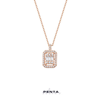 Penta Silver - Anturaj Baget Gümüş Kolye