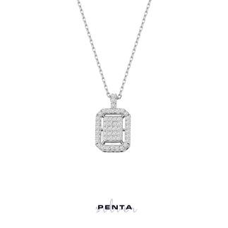 Penta Silver - Baget Montür Gümüş Kolye (1)