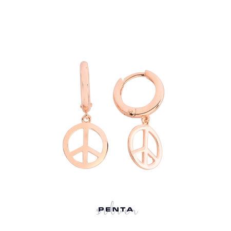 Barış Gümüş Küpe