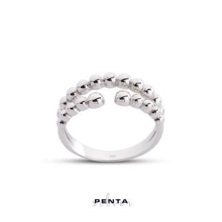 Penta Silver - Bilye Gümüş Yüzük
