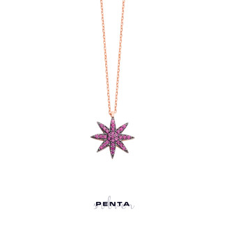 Penta Silver - Çoban Yıldızı Gümüş Kolye (1)