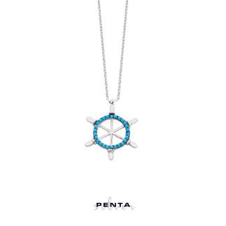 Penta Silver - Dümen Gümüş Kolye