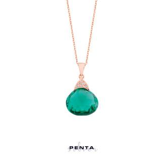 Penta Silver - Fancy Gümüş Kolye (1)