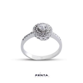 Penta Silver - Fantezi Anturaj Gümüş Yüzük