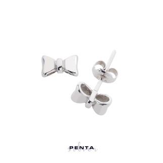 Penta Silver - Fiyonk Gümüş Küpe (1)