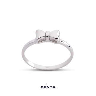 Penta Silver - Fiyonk Gümüş Yüzük