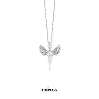 Penta Silver - İyilik Perisi Gümüş Kolye (1)