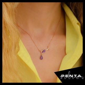 Penta Silver - Kadeh Gümüş Kolye