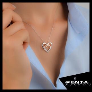 Penta Silver - Kalpli Ebedi Aşk Gümüş Kolye (1)