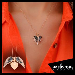Penta Silver - Kalpteki Sır İsimli Gümüş Kolye (1)
