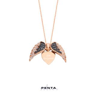 Penta Silver - Kalpteki Sır İsimli Gümüş Kolye