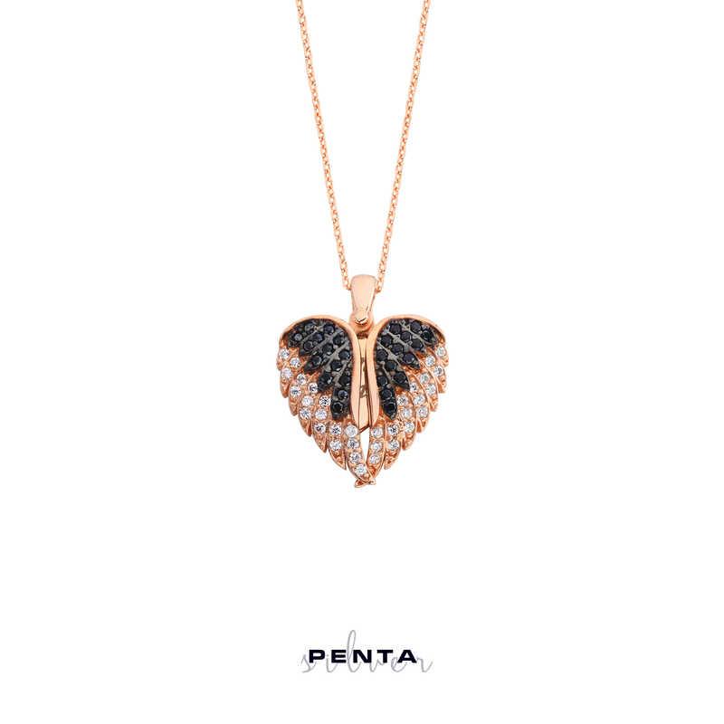 Kalpteki Sır İsimli Gümüş Kolye