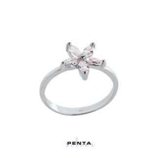 Penta Silver - Markiz Yıldız Gümüş Yüzük (1)