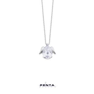 Penta Silver - Melek Damla Gümüş Kolye