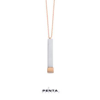 Penta Silver - Nested İsimli Gümüş Kolye (1)