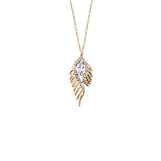Penta Silver - Peyote Gümüş Kolye (1)