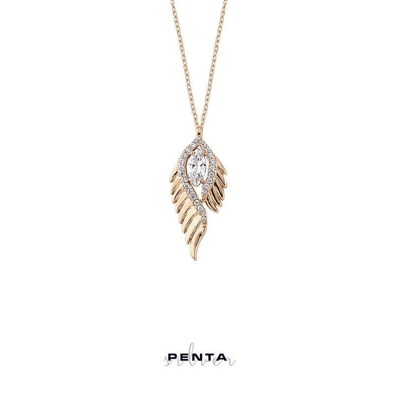 Peyote Gümüş Kolye