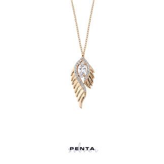 Peyote Gümüş Kolye - Thumbnail