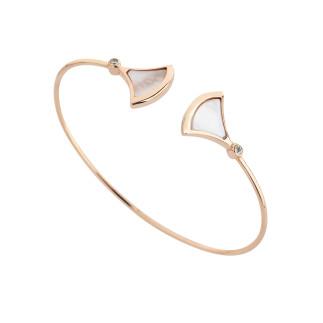 Penta Silver - Sedefli Stil Gümüş Bileklik (1)