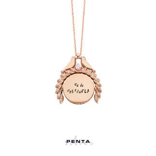 Penta Silver - Sihirli Sevgi İsimli Gümüş Kolye (1)