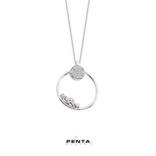 Penta Silver - Sistem Gümüş Kolye (1)