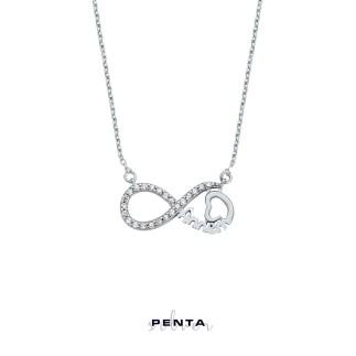 Penta Silver - Sonsuzluk Annem Gümüş Kolye
