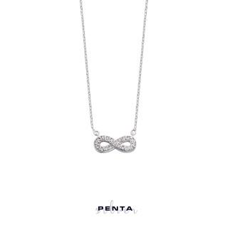 Penta Silver - Sonsuzluk Gümüş Kolye (1)