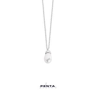 Penta Silver - Su Damlası Gümüş Kolye (1)