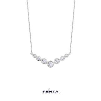 Penta Silver - Su Yolu Gümüş Kolye (1)