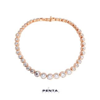 Penta Silver - Su Yolu Süzme Gümüş Bileklik (1)