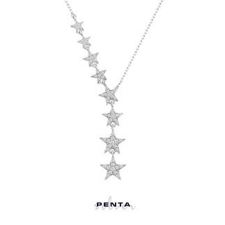 Penta Silver - Takım Yıldızı Gümüş Kolye