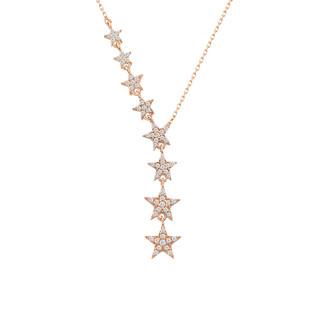 Takım Yıldızı Gümüş Kolye - Thumbnail