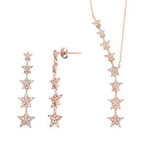 Takım Yıldızı İkili Gümüş Set - Thumbnail