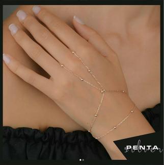 Penta Silver - Toplu Gümüş Şahmeran Bileklik