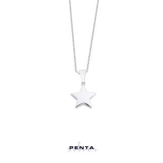 Penta Silver - Yıldız Gümüş Kolye (1)