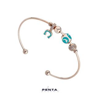 Penta Silver - Yunus Motifli Kelepçe Gümüş Bileklik