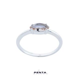 Penta Silver - Zultanit Markiz Gümüş Yüzük